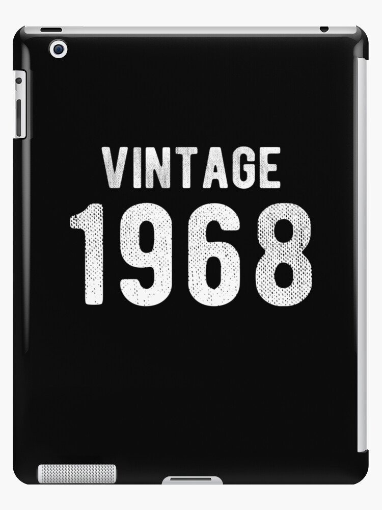 Retro Vintage 1968 Awesome 50th Birthday Gift by JapaneseInkArt