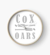 Cox Oars Clock