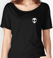 White Alien 1 Relaxed Fit T-Shirt