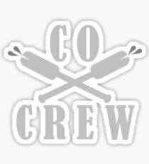 Cox over Crew Sticker