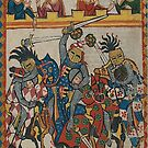 Medieval 12th century German Tournament by edsimoneit