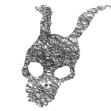 Frank rabbit black by jhojho