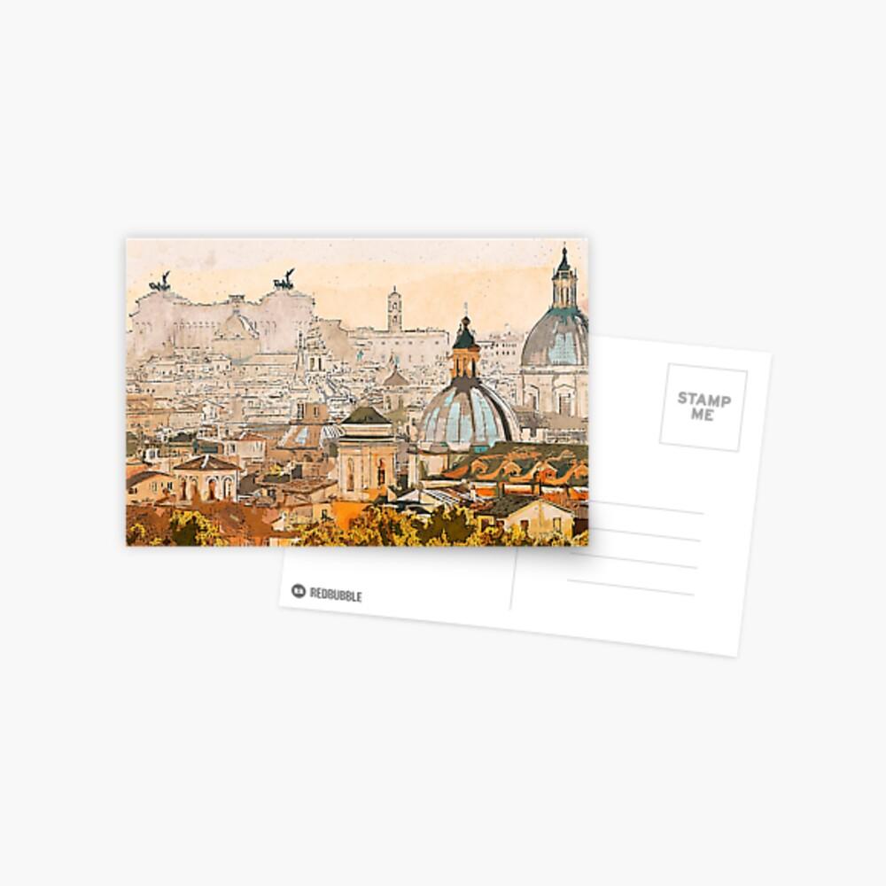 Paisaje urbano de Roma Postal