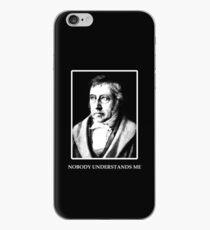 Sad Hegel - Nobody Understands Me iPhone Case