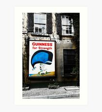 Guinness For Strength Art Print