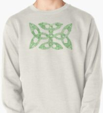 Green Irish Knot Design Pullover