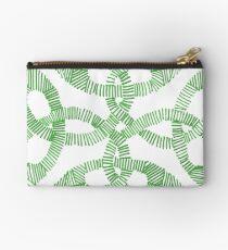 Green Irish Knot Design Studio Pouch