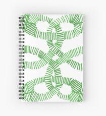 Green Irish Knot Design Spiral Notebook