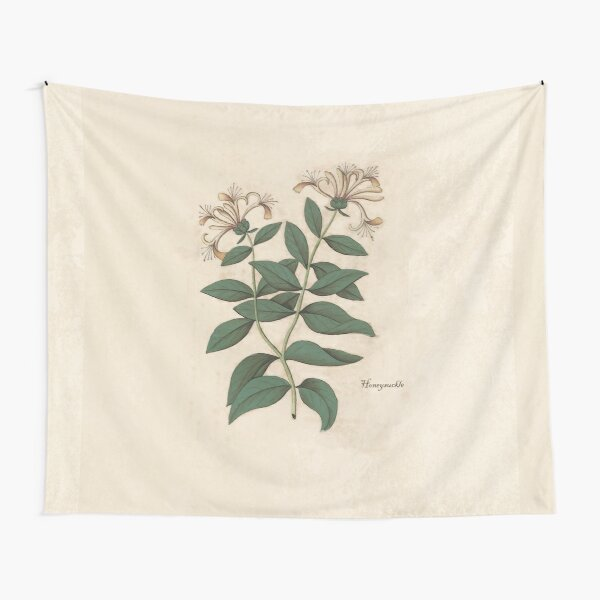 Fragrant Honeysuckle Tapestry