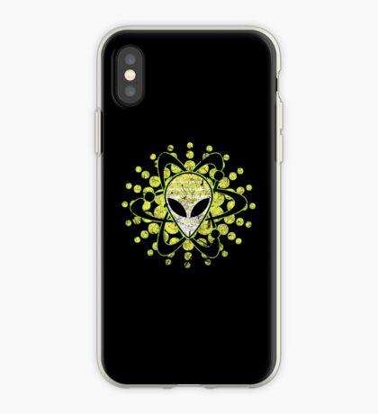 Atomic Alien - Dark iPhone Case