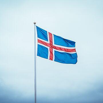 Iceland Flag / Iceland Flag by 66latitudenorth