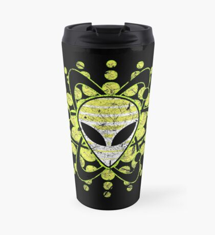 Atomic Alien - Dark Travel Mug