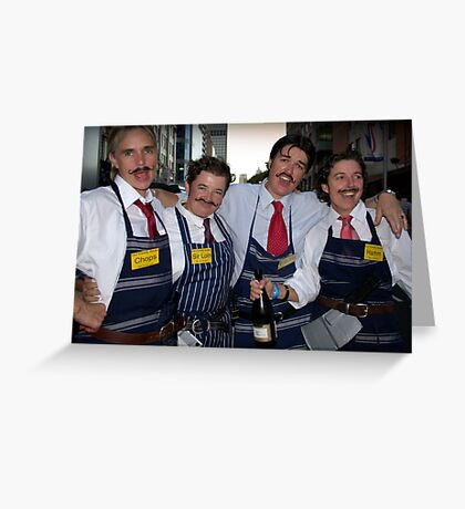 The Butchers of Sydney II Greeting Card