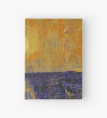 Moonrise over Coligny original painting Hardcover Journal