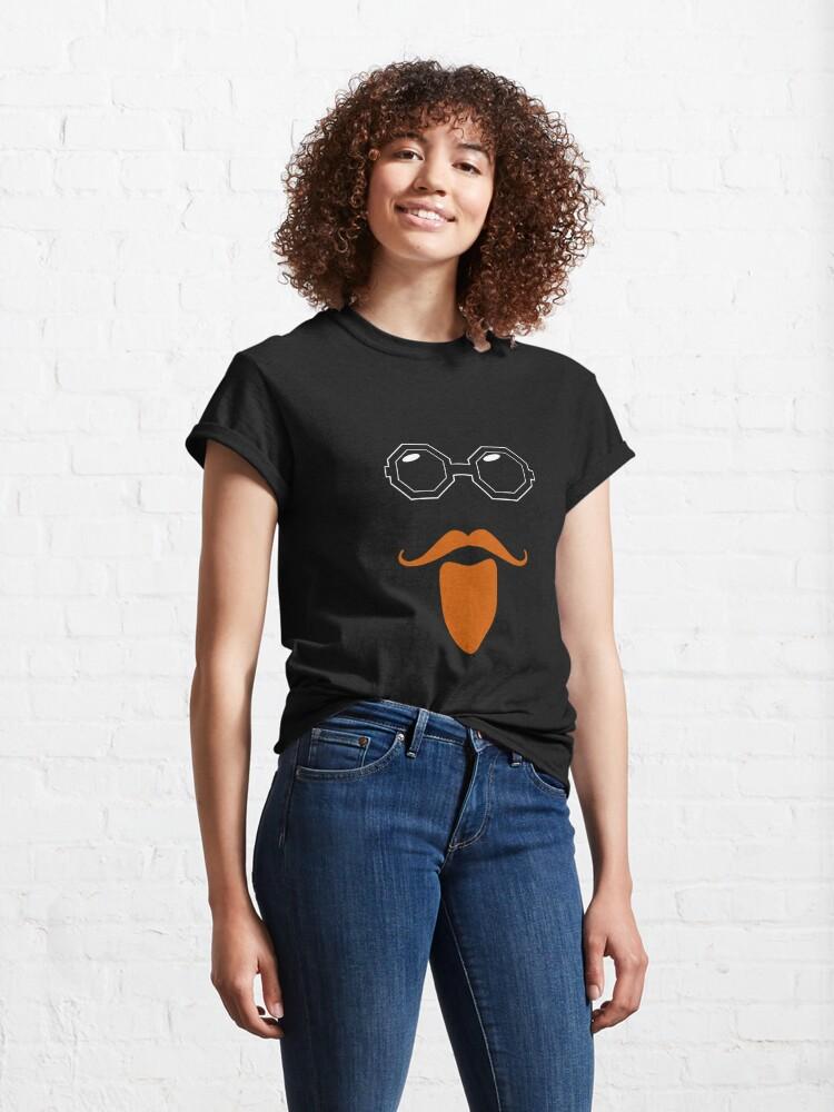 Alternate view of Ginger Geezer - Sir Vivian Stanshall Classic T-Shirt