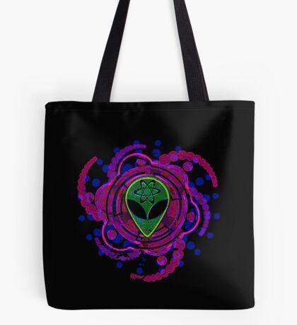 Psychedelic Alien - Dark Tote Bag