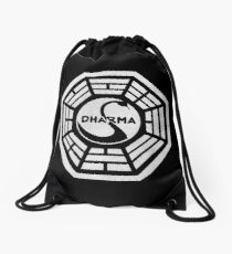 Dharma Initiative Drawstring Bag