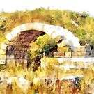 Albania: arch of the archaeological area of Apollonia by Giuseppe Cocco