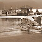 Sydney Sea Plane Taxi. by Stan Owen