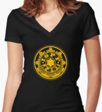 ISPF - International Space Police Force Women's Fitted V-Neck T-Shirt
