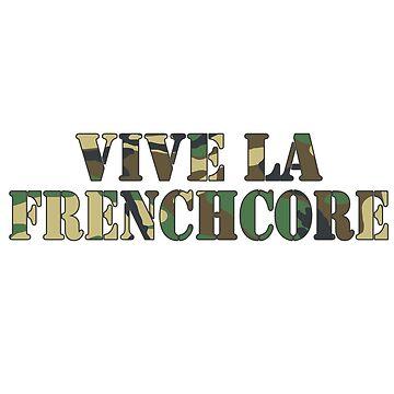 Vive la Frenchcore Camo by UnicornGen