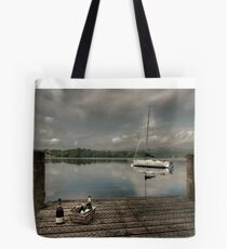 Champagne Yacht Tote Bag