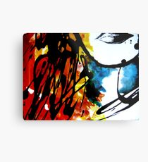 Lips of Dispersion colours Metal Print