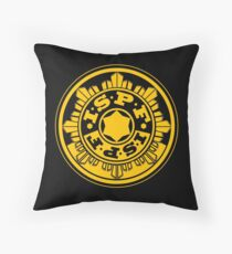 ISPF - International Space Police Force Throw Pillow