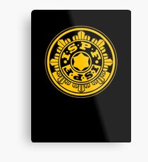 ISPF - International Space Police Force Metal Print