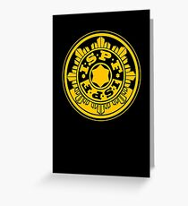 ISPF - International Space Police Force Greeting Card