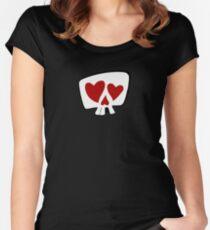 Misbehavin' Maidens Women's Fitted Scoop T-Shirt