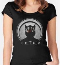 Inigo emblem (dark) Women's Fitted Scoop T-Shirt