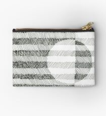 Hand drawing ink square pattern Studio Pouch