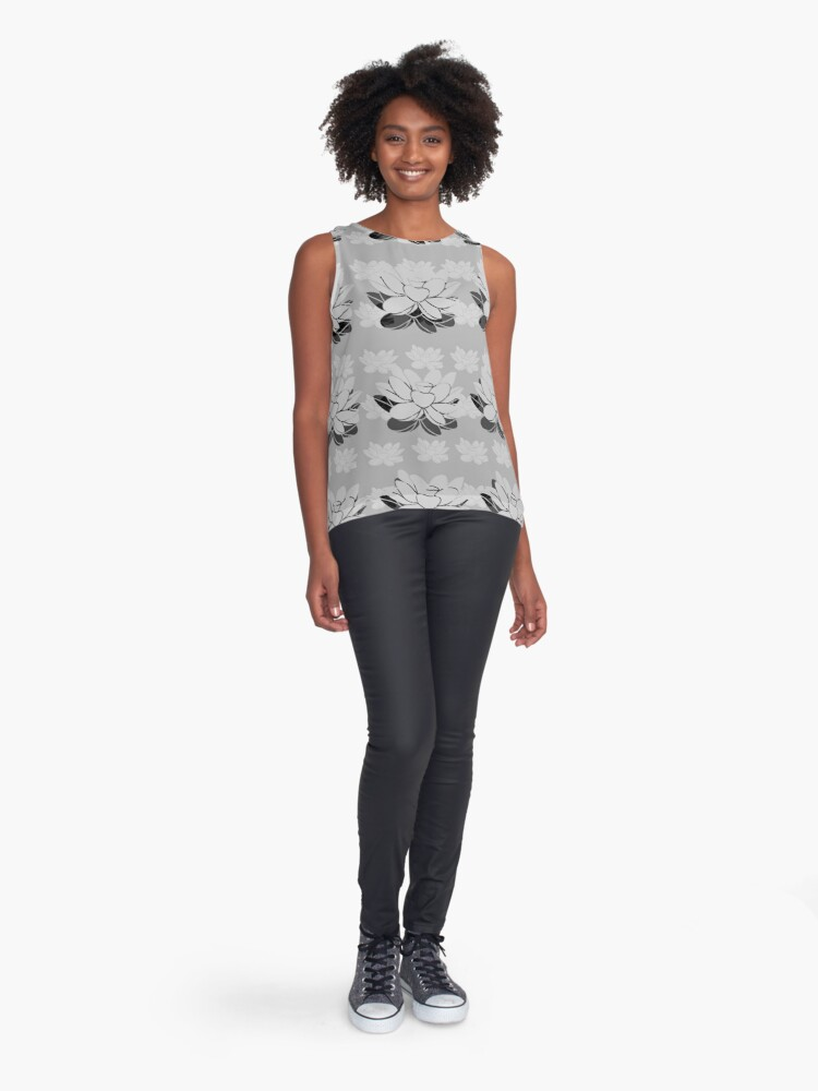 Alternate view of Lily gray value Sleeveless Top