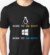 Linux VS Windows Unisex T-Shirt