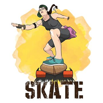 Skateboarding Skater Funny Gifts by miracletee