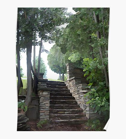 These Steps Of Stone Poster