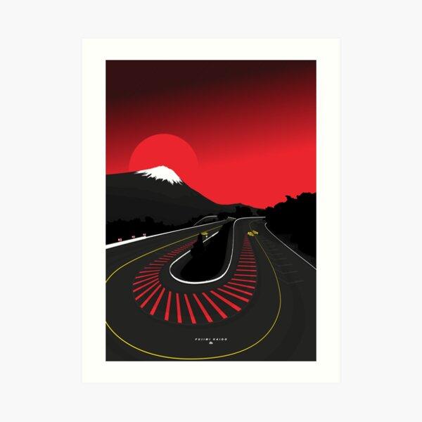 Fujimi Kaido Art Print