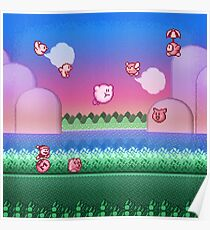 Kirby Level One Poster