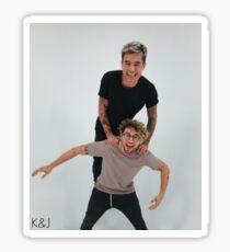 Kian Lawley and Jc Caylen Sticker