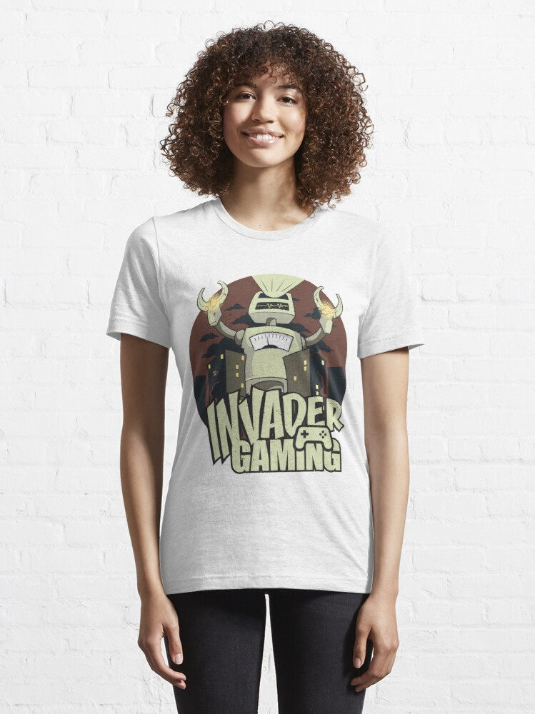 Alternate view of Invader Gaming Essential T-Shirt