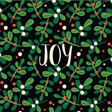 Holly & Joy Christmas Pattern by meghanmarie