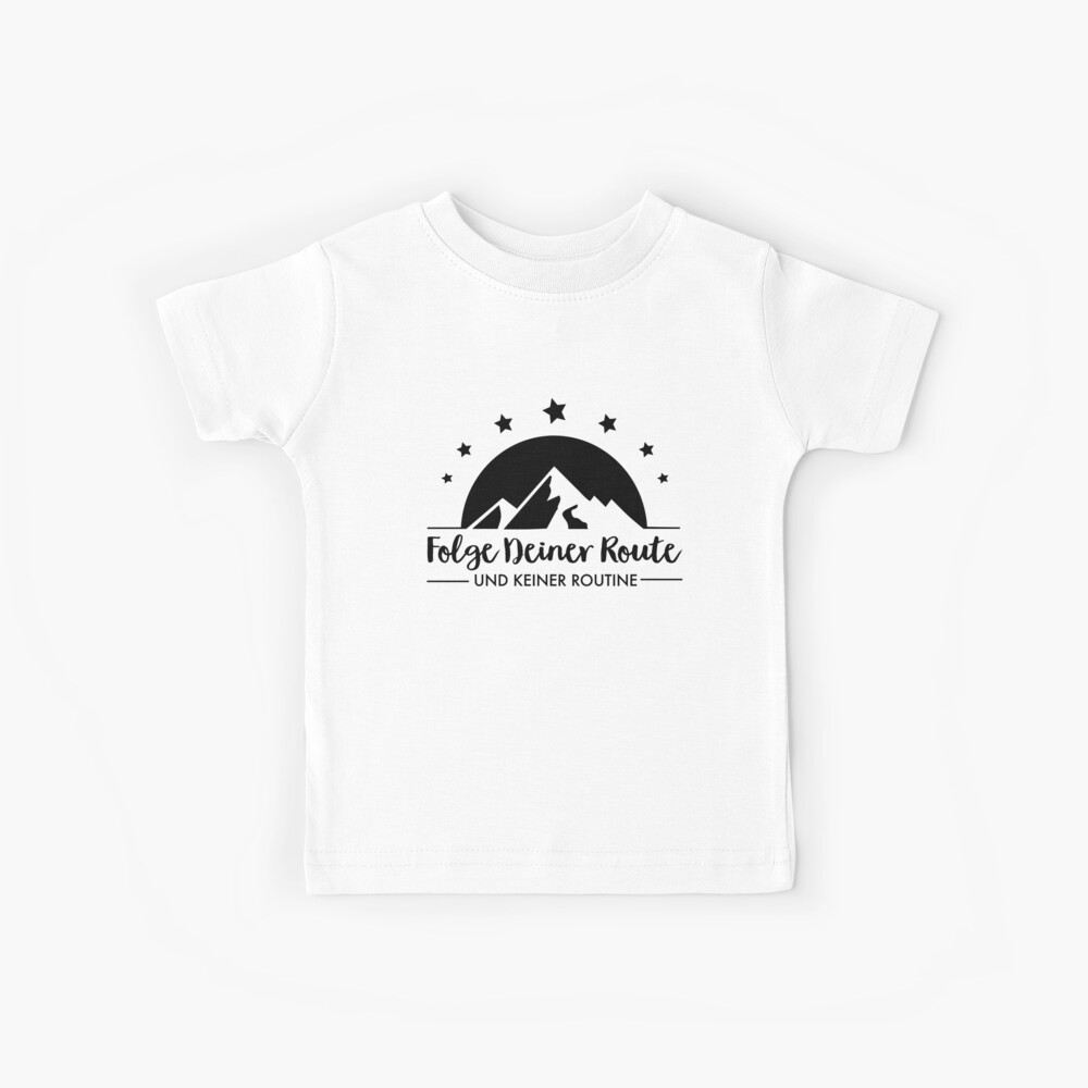 Hiking - Follow your route Kids T-Shirt