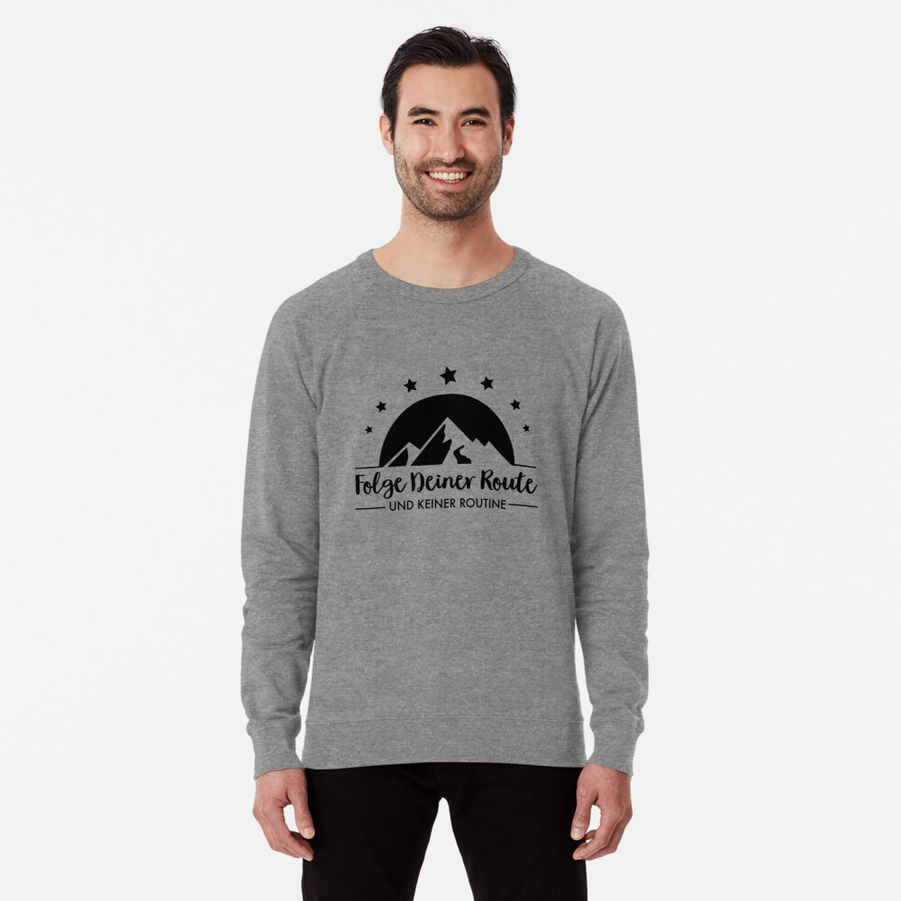 Hiking - Follow your route Lightweight Sweatshirt