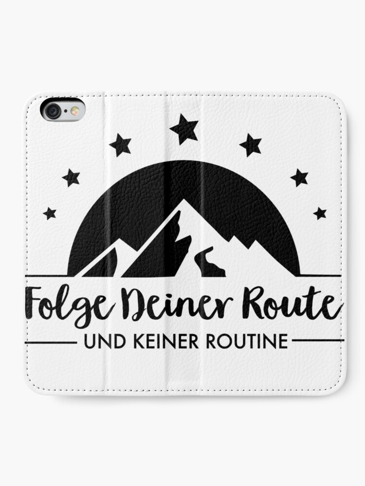 Alternate view of Hiking - Follow your route iPhone Wallet