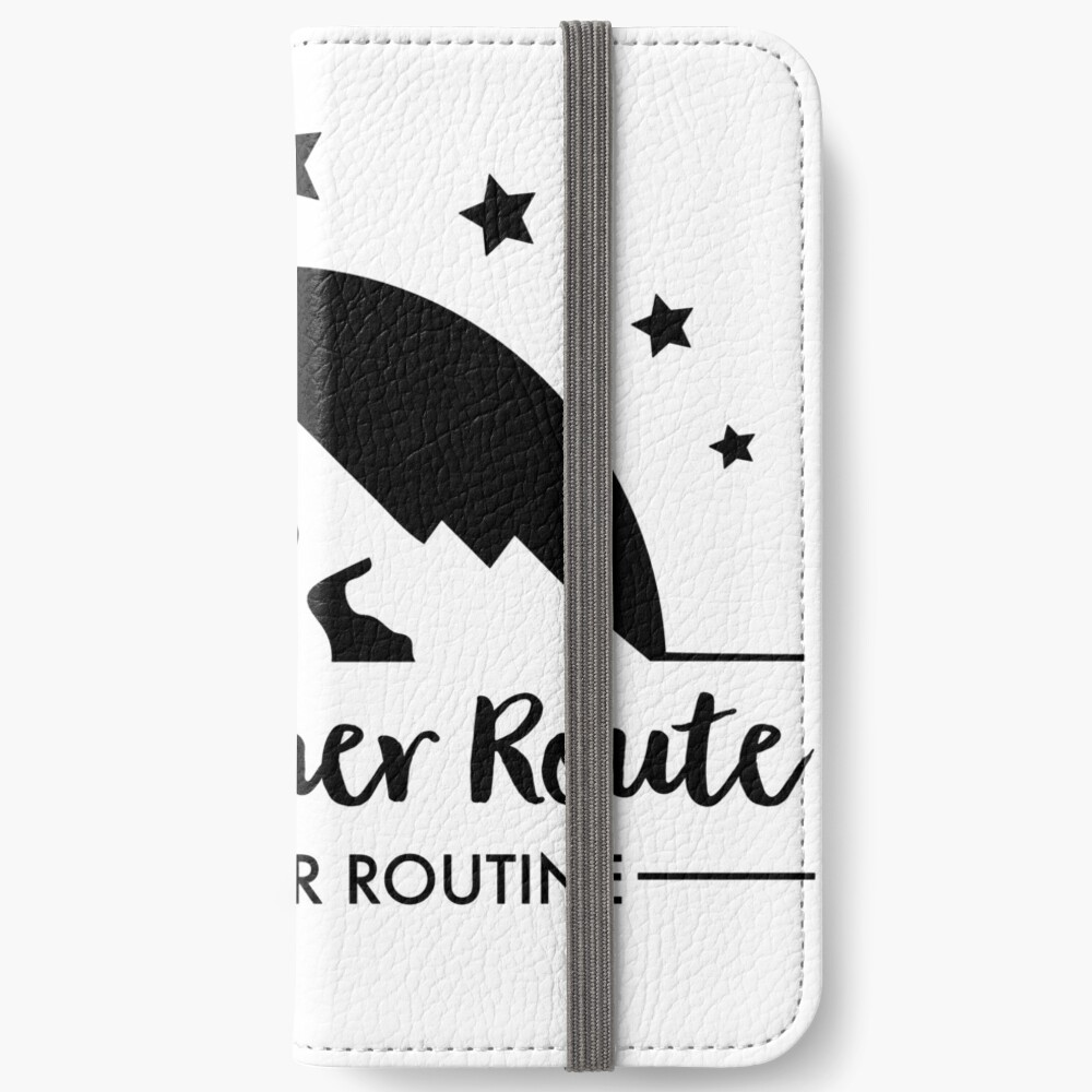 Hiking - Follow your route iPhone Wallet