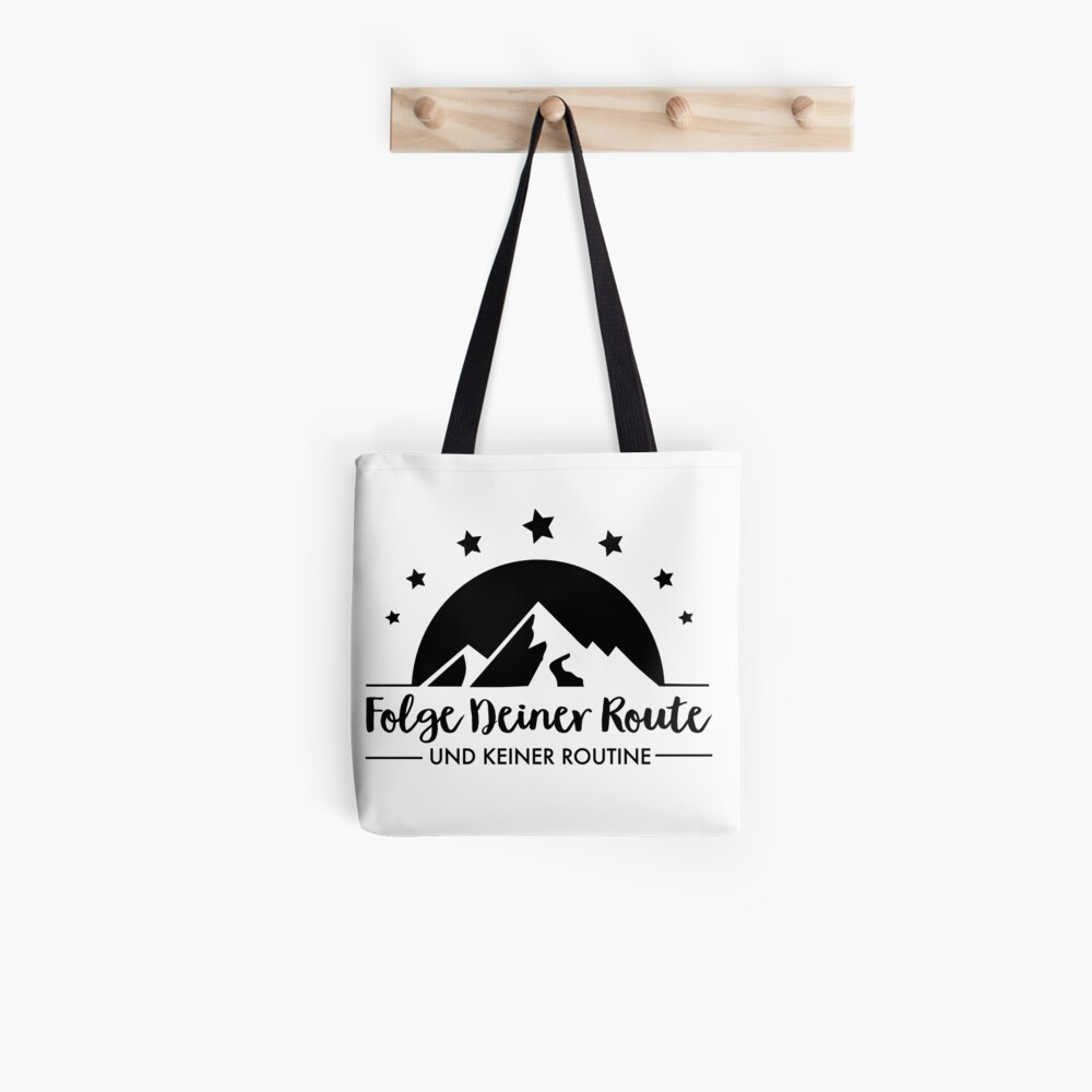 Hiking - Follow your route Tote Bag