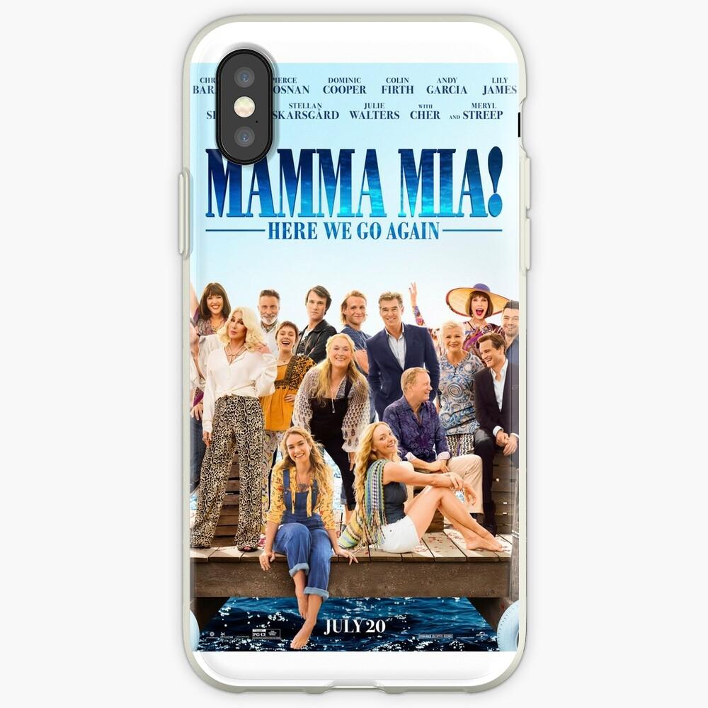 Mamma Mia - ¡Aquí vamos otra vez! Funda y vinilo para iPhone