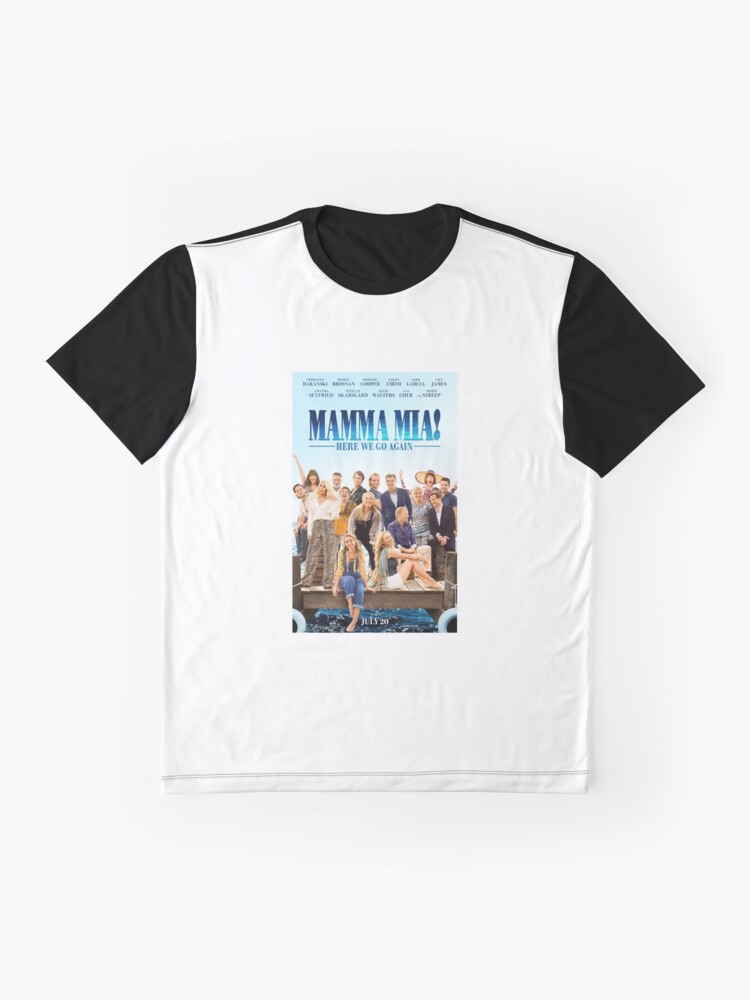 Vista alternativa de Camiseta gráfica Mamma Mia - ¡Aquí vamos otra vez!