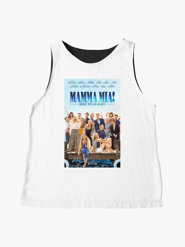 Vista alternativa de Blusa sin mangas Mamma Mia - ¡Aquí vamos otra vez!